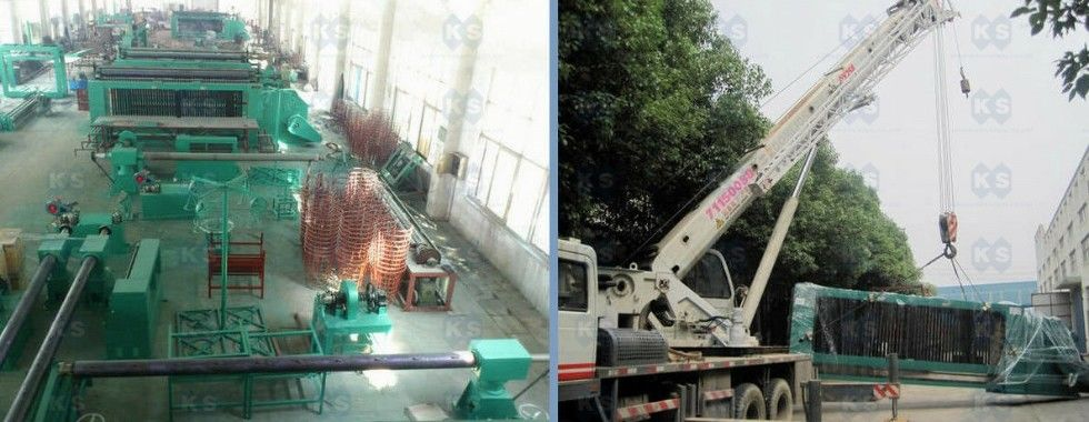 China best gabion box machine op verkoop